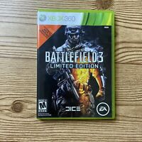 Battlefield 3 Limited Edition Xbox 360 Video Game, Manual Included, Tested