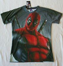 Señor 1991 Inc & Miss Deadpool Marvel Camisa Nuevo Con Etiquetas medio???