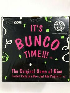 It's Bunco Time The Original Game Of Dice