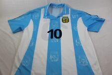 XL blue/white Argentina Futbol Soccer jersey Saviola 10