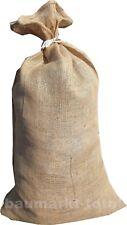 1 Jutesack 60x105cm ca.50kg Jute Jutesack Kartoffelsack Säcke Jutesäcke Nusssack