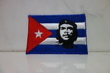 Aufnäher Patch Che Guevara auf Kuba - 5,5 x 8 cm