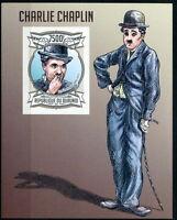 BURUNDI 2013 MNH Imperf SS, Charlie Chaplin, Actor, Comedian  (B8n)