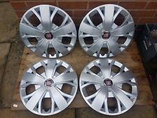 "Genuine Set of Fiat Ducato Maxi 16"" Wheel Trims Hub Caps x4 Scudo NEW"