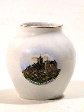 Andenken Porzellan Vase Wartburg bei Eisenach