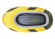 Schlauchboot Familienboot Boot Ruderboot inkl. Paddel Trägfähigkeit: 260 kg NEU
