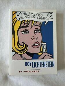 30 Postcards book by Roy Lichtenstein