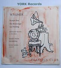 X 161-Wagner-Die Meistersinger Von Nurnberg extractos Kempe-ex Disco Lp