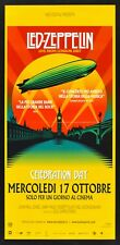 L115 LOCANDINA LED ZEPPELIN LIVE FROM LONDON CELEBRATION DAY CONCERT ARENA