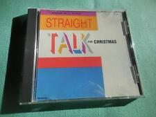 Straight TALK for Christmas CD USDJ PROMO UNIQUE 1991 Randy Travis Tritt LIKENEW