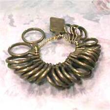*FINGER  RING  SIZER__RINGS ON A CHAIN__KNOW  YOUR RING SIZE