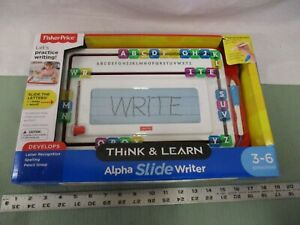 Fisher Price Think and Learn Alpha Slide Writer Preschool Grip Pen Writing Child