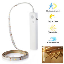 LED Strip Light Wireless PIR Motion Sensor Wardrobe Cabinet Battery Operated