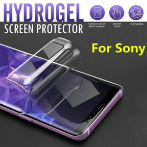 For Sony Xperia 1 5 10 Soft Hydrogel Protective Film Screen Protector Full Clear