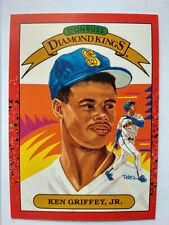 1990 DONRUSS KEN GRIFFEY JR #4 DIAMOND KINGS BASEBALL CARD EXCELLENT CONDITION