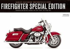 New listing 2008 Harley-Davidson Firefighter Flhr Road King & Flstc Softail Brochure Card