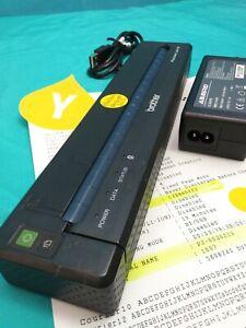 Brother PocketJet 6  PJ-662 Mobile Thermal Printer /BLUETOOTH/AC/Adapter & USB