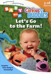 Curious Buddies: Let's Go to the Farm! [New DVD]
