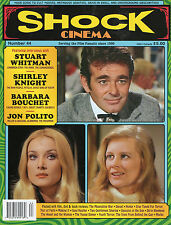 Shock Cinema #44 Steve Puchalski Stuart Whitman Shirley Knight Barbara Bouchet