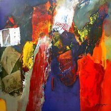 MAGIS : Variations Abstraites XVI tableau prêt 100x100 Tableau mural