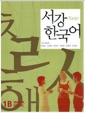 New Sogang Korean 1B Workbook With CD Language Book Learn Study Korea Hangul