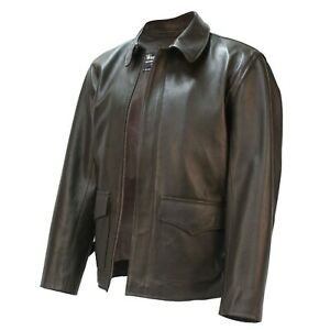 Wested Leather Indiana Jones Raiders Jacket Authentic Lambskin size 36