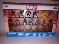 (LOT OF 2) MULTIPLE PACK MARVEL NANO METALFIGS DIE CAST.