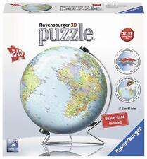 Ravensburger Puzzle en 3D, Globe terrestre, 540 pièces