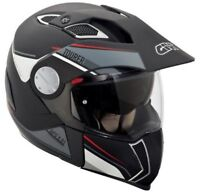 Casco Helmet Capacete Cruce Tourer Negro Rojo Givi hx01 7 IN 1 TALLA XS