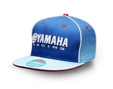 Official Yamaha Racing Blue Zenkai Adults Flat Peak Baseball Cap
