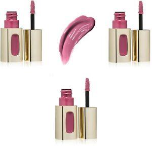 3 L'Oréal Paris Colour Riche Extraordinaire Lip Gloss, Purple Prelude, 0.18 #403