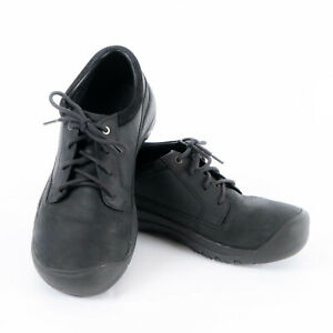 Keen Austin Waterproof Casual Black Leather Lace-up Men's Shoes Size 10.5 M