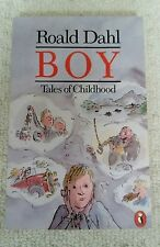 BOY: TALES OF CHILDHOOD by Roald Dahl. 1986 Puffin Paperback VGC