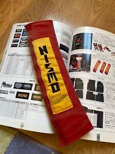 Nismo Old Logo Single Shoulder Seat Belt Pad Skyline GTR R32 R33 400R S13 S14