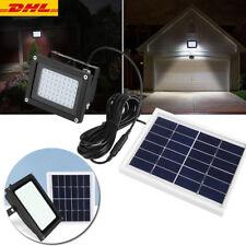150LED 10W Solarleuchte Solarlampe Außenleuchte + Bewegungsmelder Gartenlampe AL