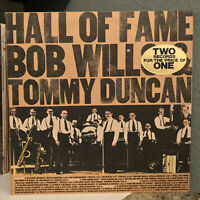 "BOB WILLS & TOMMY DUNCAN - Hall Of Fame (Double Album)- 12"" Vinyl Record LP - EX"
