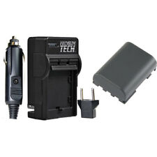 PT NB-2LH Battery and Charger for Canon Rebel XT XTi 400D G9 G7 S80 S40
