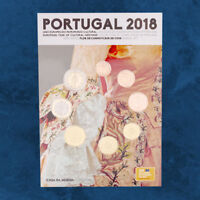 Portugal - Cultural Heritage - KMS 2018 FDC / BU - 3,88 Euro - 1 Cent - 2 Euro