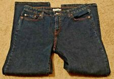 Levi's 515 Womens 12 S 34x27 Medium Wash Levi Bootcut Denim Jeans Stretch EUC