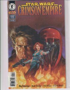 Dark Horse Comics Star Wars Crimson Empire #4 March 1998 Near Mint