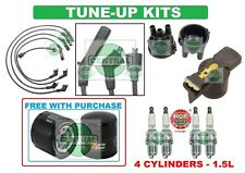 TUNE UP KITS for 90-95 EXCEL SCOUPE: SPARK PLUG WIRESET; DISTRIBUTOR CAP & ROTOR