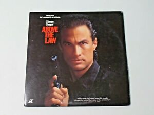 ABOVE THE LAW Digitally Processed Extended Play Laserdisc Movie Steven Seagal
