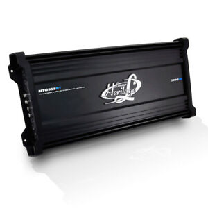 Lanzar HTG558BT 5 Channel 3,000 Watt Car Audio MOSFET Amplifier with Bluetooth