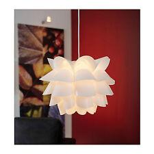 IKEA KNAPPA Bianco Lampada a sospensione raccordo con Shade-per l'illuminazione morbida, umore