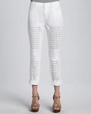 NWOT J Brand Aidan Slouchy Boy Jeans Eyelet Panels Jeans Size 28