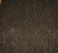 Chenille upholstery fabric color brown 54 wide (by the yard) for sofas & chairs