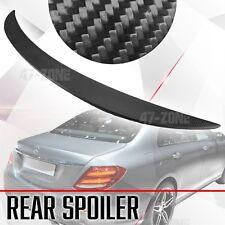 Matte Black Carbon Fiber Rear Spoiler Wing For 16-18 Mercedes Benz E Class W213