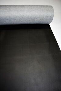 "Auto Upholstery Outdoor Boat Marine Vinyl Fabric Classic Black 10 Yards 54"""