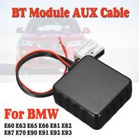Car bluetooth Module AUX Cable Adapter For for BMW E60 E63 E65 E66 E81 E82