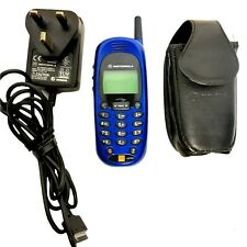 Vintage Motorola CD930E Mobile Phone comes with Charger and Case Working